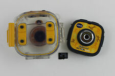 Vtech Kidizoom Action Cam Digital Camera, Water Proof Case, 8GB Micro SD Card