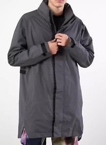 Adidas RAIN.RDY Parka Jacket - Mens Size M - Grey - NWT - $160