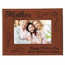 Personalized 5 x 7 Mom Picture Frame - Custom Mothers Day Gift For Her