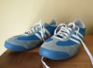 Vintage Adidas Originals Dragon Rare Colors Size 11