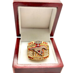 2008 Calgary Stampedrs Henry Burris 96th Grey Cup Championship ring