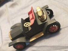 VINTAGE CAST IRON CAR 1911 BUICK NOVELTY TABLE LIGHTER W/BRASS LIGHTER JAPAN !!!