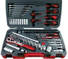 0.635 and 1.27 cm TengTools TM095 Sockets Set 1//4/and 1//2 Inches 95/Pieces