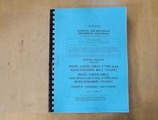 Alvis Stalwart Mk2.FV622/623.Tech handbook.Unit repairs