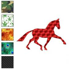 Horse Mustang Drawing Decal Sticker Choose Pattern + Size #900