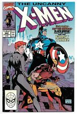UNCANNY X-MEN #268 (9/90 Marvel) (VF/NM) CAPTAIN AMERICA BLACK WIDOW WOLVERINE!