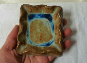 céramique grés de ALEXANDRE BIGOT cendrier M.DEBOURLE paris