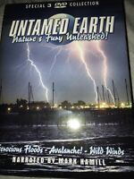 Untamed Earth - Natures Fury Unleashed (DVD, 2006, 3-Disc Set)