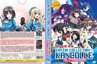 Kantai Collection: KanColle (Vol.1 - 12 End + Movie) ~ English Version ~ SEAL ~