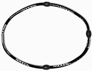 Nikken 1 PowerBand Neck Necklace - 19084, Black, Magnetic Therapy