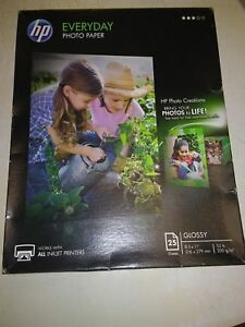 HP Everyday Photo Paper Eco Highlights 25 sheet Glossy 8.5x11