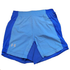 Under Armour Ua Heatgear Hommes Qualifier Speedpocket 17.8cm Bleu Course Short L