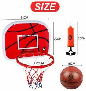 Mini Basketball Ring Hoop Net Wall Mounted Indoor/Outdoor Hanging Set