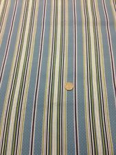 Paris Cats 100 % Cotton Quilting Blue Purple Green White Spots Stripes