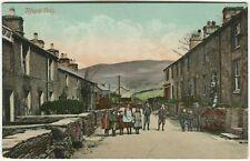 More details for rhyd ddu village - caernarvonshire postcard d w d carnarvon