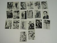 "Vintage Lot of 20 Robert Vaughn Topps 1965 Trading Cards  ""The Man from Uncle"""