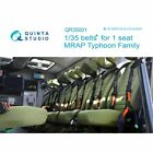 Quinta QR35001 3D printed  colored belts for 1 seat MRAP Typhoon family 1/35