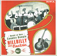 "VARIOUS ARTISTS - HILLBILLY BOOGIE Volume 1 - 10"" VINYL LP - (Rockabilly)"