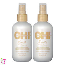 CHI Keratin Leave-in Conditioner Reconstructing Treatment 6 oz (Pack of 2)