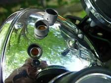 BSA, Norton, Triumph, Lucas, OIF, Headlamp Warning Lamp Shields, FREE S/H