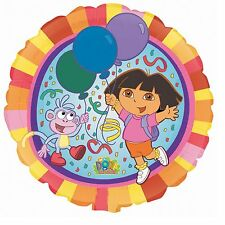 "DORA THE EXPLORER BALLOON 18"" NO MESSAGE FOIL ANAGRAM BALLOON"