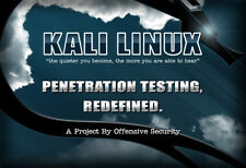 Kali Linux 2018.3a Adv 32 & 64 Bit DVDs 300+ Tools Hacking Testing Learning Etc