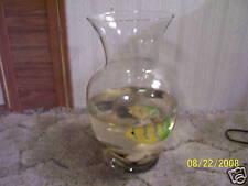 Artificial aquarium in a vase