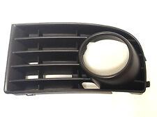 VW Golf  5 MK5 V 2003-2008  front bumper lower grille with fog lights hole LEFT