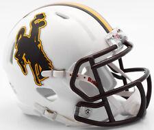 Wyoming Cowboys Riddell NCAA College Football Team Speed Mini Helmet