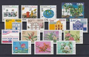 Portugal - Macao/Macau 1983 Complete Year MNH