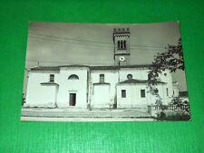 Cartolina Prata di Pordenone - Chiesa di S. Lucia 1955