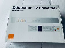 Orange Decodeur TV UHD90 Slim V2 Universel   Neuf