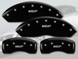 "2011-2013 M37 Front + Rear Black Engraved ""MGP"" Brake Disc Caliper Covers 4p Set"
