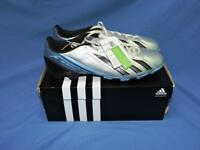 Adidas Size 12 NEW Silver Blue Black F5 TRX FG Soccer Cleats Mens Shoes Football