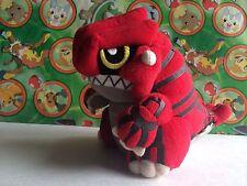 Pokemon Plush DX Groudon round Banpresto 2004 UFO stuffed doll figure USA Seller