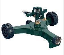Orbit Durable Zinc Impact Head Lawn Sprinkler Adjustable Plastic Wheel Base Tran