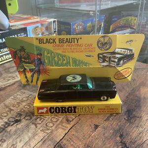 Corgi Green Hornet Black Beauty Diecast Car Vintage Boxed Collection Superhero
