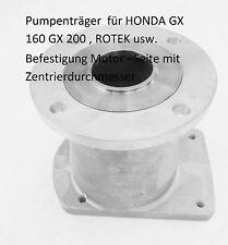 Honda  Pumpenträger -Benzinmotor BG 2 Pumpen  Schaft d 19,05/L 62 mm