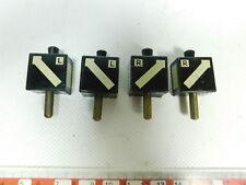 BI823-0, 5 #4x Märklin Escala 0/1 (?) Blech-Laternenimitat Para Desvío/E-Weiche