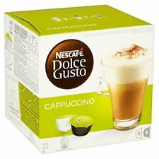 £4 NESCAFE DOLCE GUSTO COFFEE & MILK Pods  PACK OF 1 CAPPUCCINO