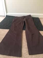 New York And Company Womens Casual Pants Sz 12 Average Brown Clothes