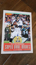 2018 PANINI SUPER BOWL HEROES LII 52 5X7 CARD PEYTON MANNING BRONCOS COLTS
