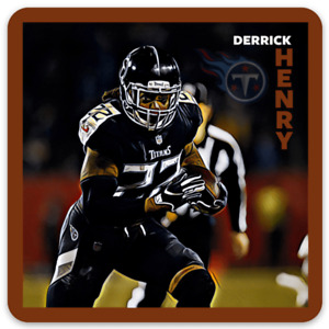 Derrick Henry Tennessee Titans Character Rendering NFL Football MAGNET
