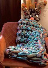 Chunky Knit Blanket - CratefulStudio