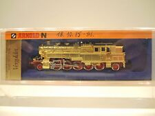 Arnold 2708 Dampflok BR 95 der DB, vergoldet, Standmodell, ohne Motor!  OVP