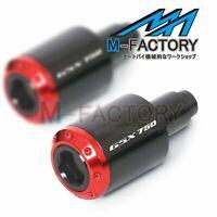 Billet ATOM Bar Ends Sliders Fit Suzuki Katana GSX750F 89-06 05 04 03 02 01