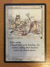 MTG 1x Tundra Wolves Legends Plains Creature Magic the Gathering Card