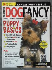 Dog Fancy Magazine 2003 April Yorkshire Terrier Irish Wolfhound Belgian Sheepdog