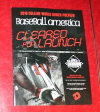 2018 COLLEGE WORLD SERIES CWS BASEBALL AMERICA PREVIEW
