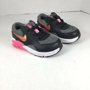 Nike Toddler Girl Air Max Excee Black Size 6C